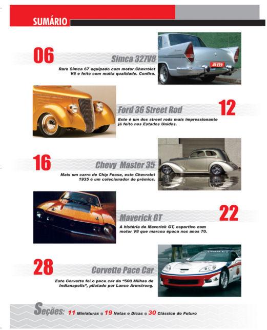 Carros: Esportivos, Clássicos e de Corridas