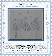 Winter Thyme Block e-Pattern all included in quilt pattern