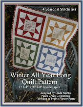 FREE Winter All Year Long Quilt E-Pattern includes all the stitcheries