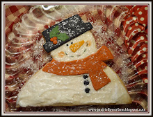 Homespun Snowman Cookie Recipe
