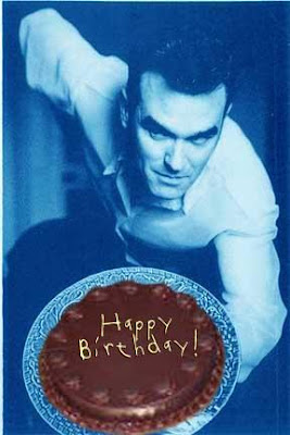 morrissey, birthday, unhappy birthday