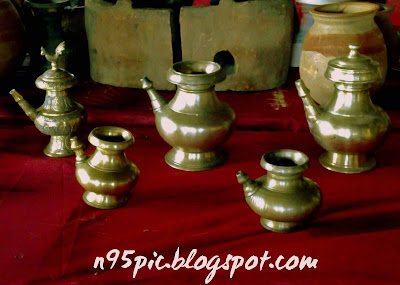 Nepali classical utensils