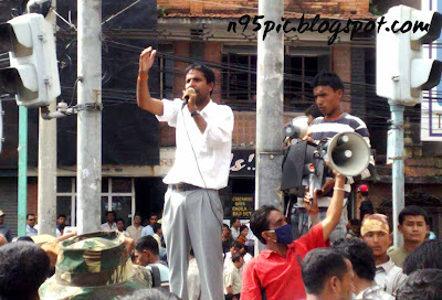 protest against maoist,Maobadi,Nepali political party,n95