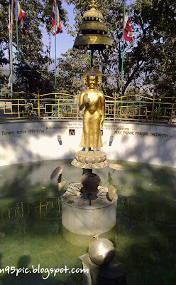 wishing pool of Buddha , swayambhu,stupa in kathmandu,stupa in nepal,buddhism in nepal