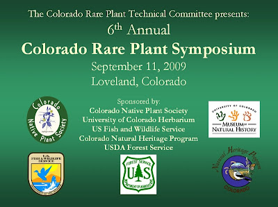Colorado Rare Plant Symposium