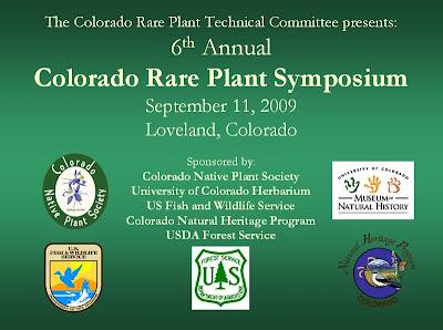 Colorado Rare Plant Symposium