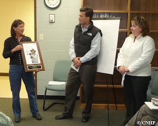 Renée Rondeau receives award from CSU