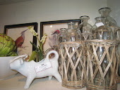 Wicker and Glass Collection