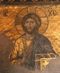 Jesus in die Hagia Sophia