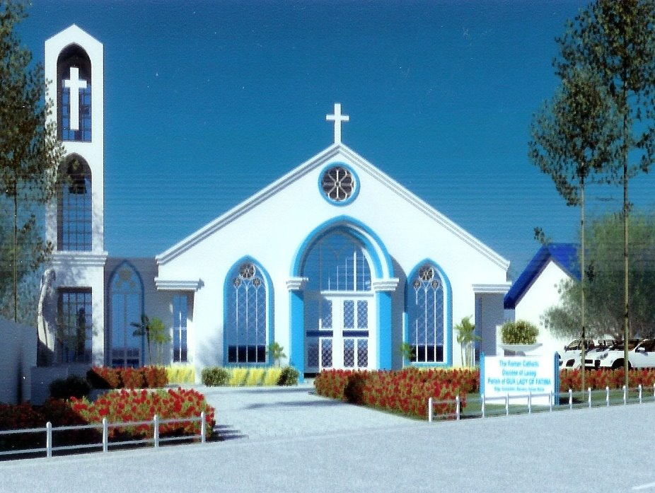 The Dream Church of Our Lady of Fatima Parish, Cadaratan, Bacarra, Ilocos Norte