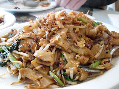 Seri Malaysia, a Malaysian restaurant in the Hastings Sunrise area of Vancouver, BC, Canada, makes a delicious Char Quay Teow