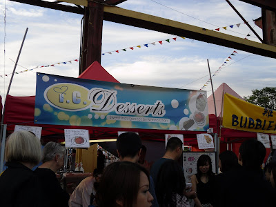 I.C. Desserts - hopefully I have more room in the belly for them next time. (Richmond Night Market 2009)