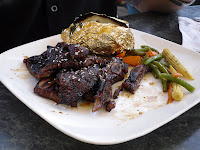 Maui Rib Dinner @ Marina Side Grill, North Vancouver, BC. Next time I am ordering this!