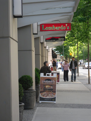 Lombardo's Pizzeria & Ristorante, 970 Smithe Street will be closing on June 15th 2009. If you get a chance, visit before they reopen under a new name & different menu!