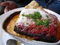 Lasagna at Lombardo's Pizzeria & Ristorante, Downtown Vancouver, BC