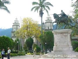 Plaza Bolivar en la actualidad