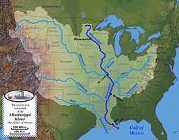 minnesota and mississippi rivers meet