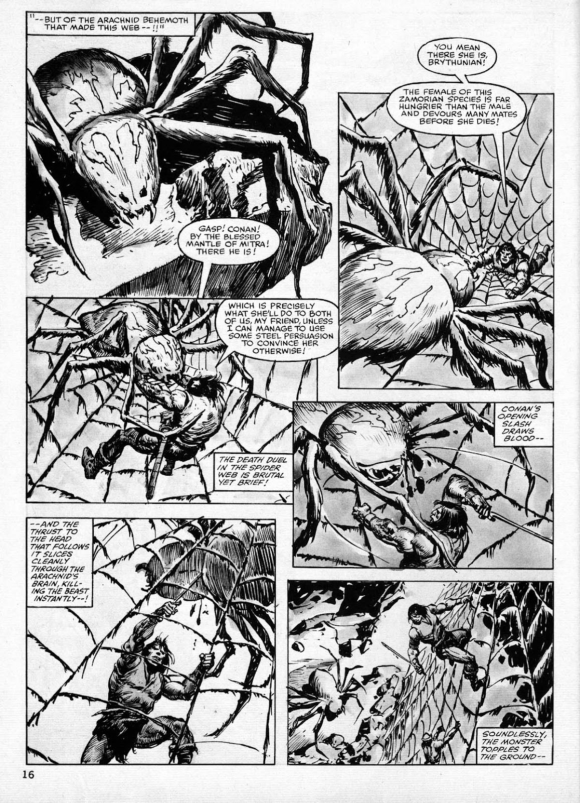 The Savage Sword Of Conan Issue #77 #78 - English 16