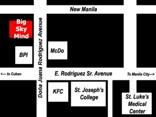 Directions to Big Sky Mind Bar QC
