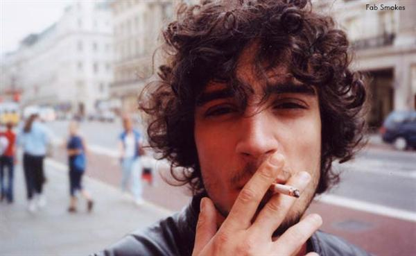 Boys with dark curly hair (no thanks on the cigarette, though).