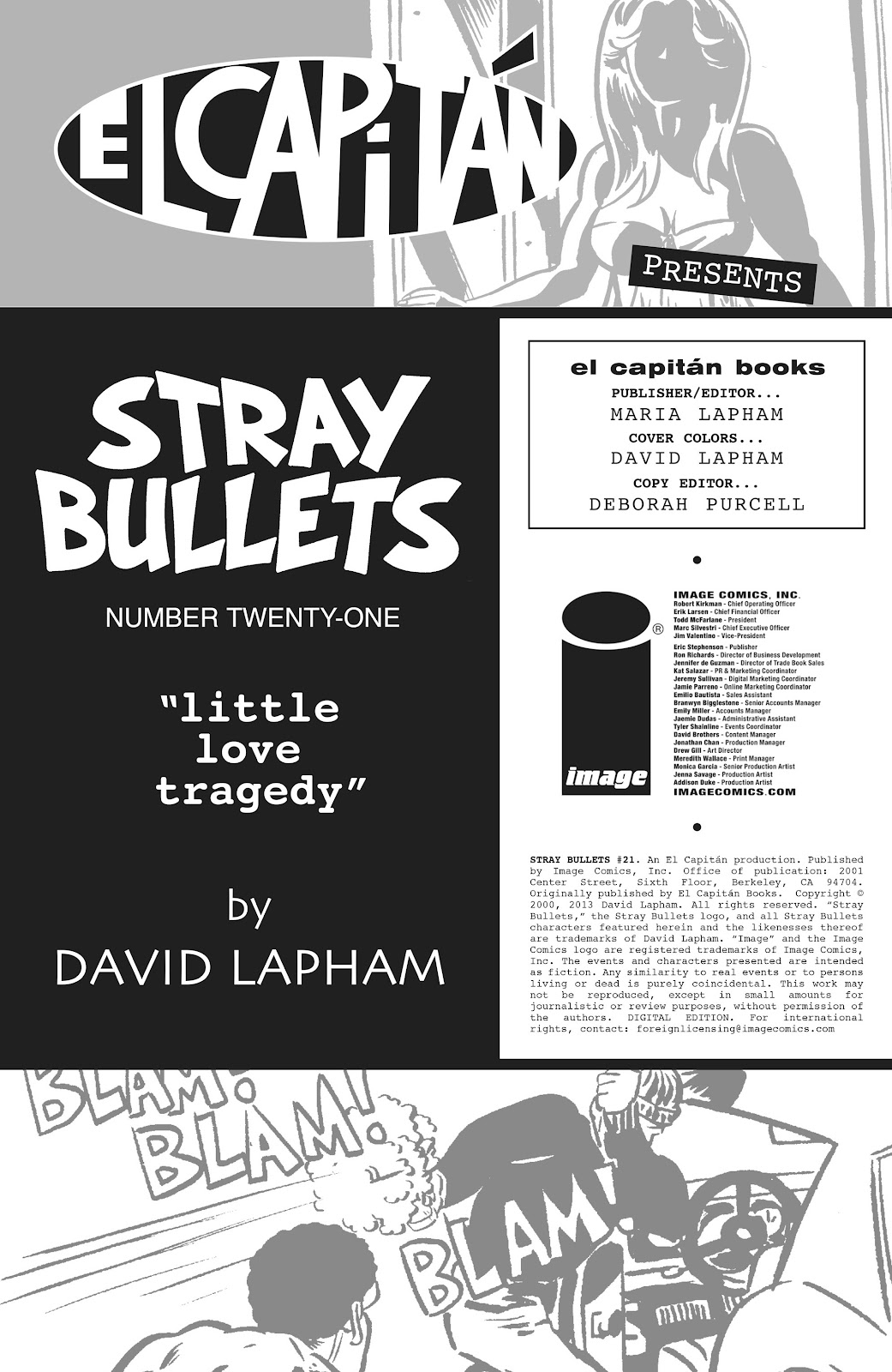 Stray Bullets Issue #21 #21 - English 2