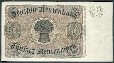 the introduction of a new currency 1923 rentenmark The introduction of a new currency in november 1923 in order to restore confidence in the german currency, stresemann introduced a new temporary currency called the rentenmark this was based on property values rather than gold reserves.