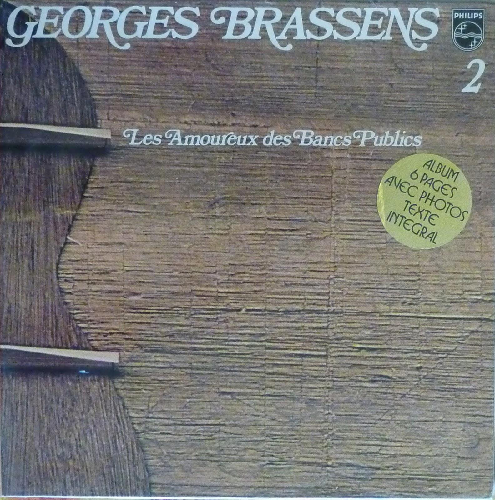 Vinylovore g brassens les amoureux des bancs publics - Les amoureux des bancs publics brassens ...