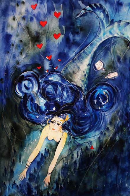 Sirène au papillon...