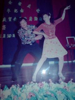 Mr. & Mrs. Gstan perform Latin Rhumba