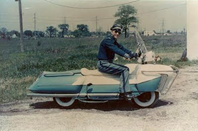Site Blogspot  Bike Moped on On To Build An Another Incredible Custom In 1950 S Below Via Bike Exif