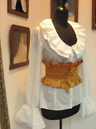 coleccion de  blusas blancas  by lazaro  sanchez