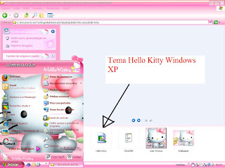 Tema Hello Kitty Windows XP