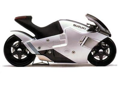 Suzuki on Suzuki Nuda    Motos Tuning