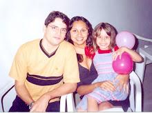 Márcio,Elvira,e Yasmin.