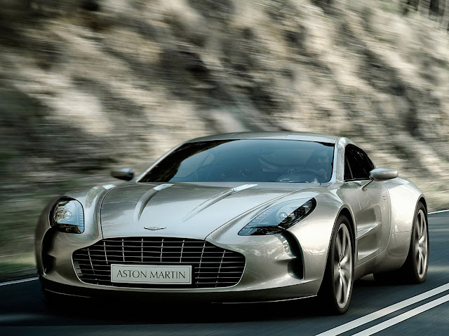 Aston Martin One-77 750hp Super Car