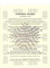 19) CHIHIZA HUIZU