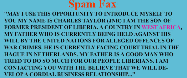 spam-fax