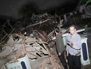 Foto Gempa Tasikmalaya