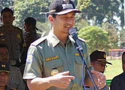 Anggota Komisi III DPR Achmad Dimyati Natakusumah ditahan