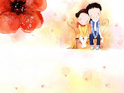 Pequeñas imagenes de niños pareja de enamorados wallpaper
