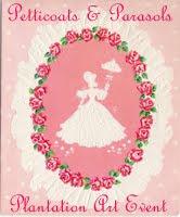 Petticoats & Parasols Art Event