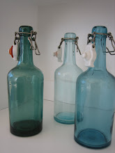 Fina glasflaskor