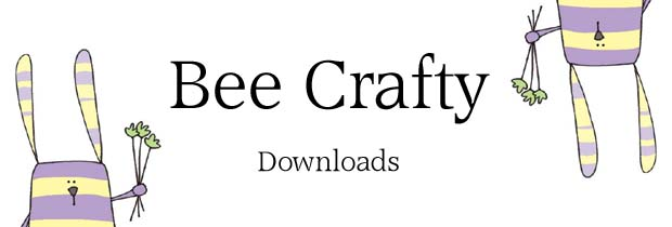 Bee Crafty - DOWNLOADS