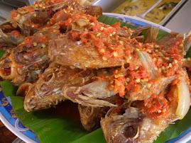 Daily Dish : Ikan Talapia Balado