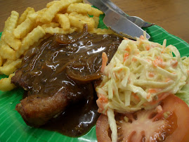 A La Carte : Chicken Chop with Black Pepper Sauce