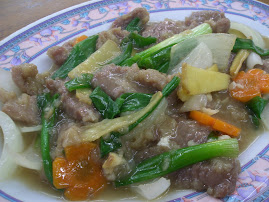 Catering Menu : Ginger Beef