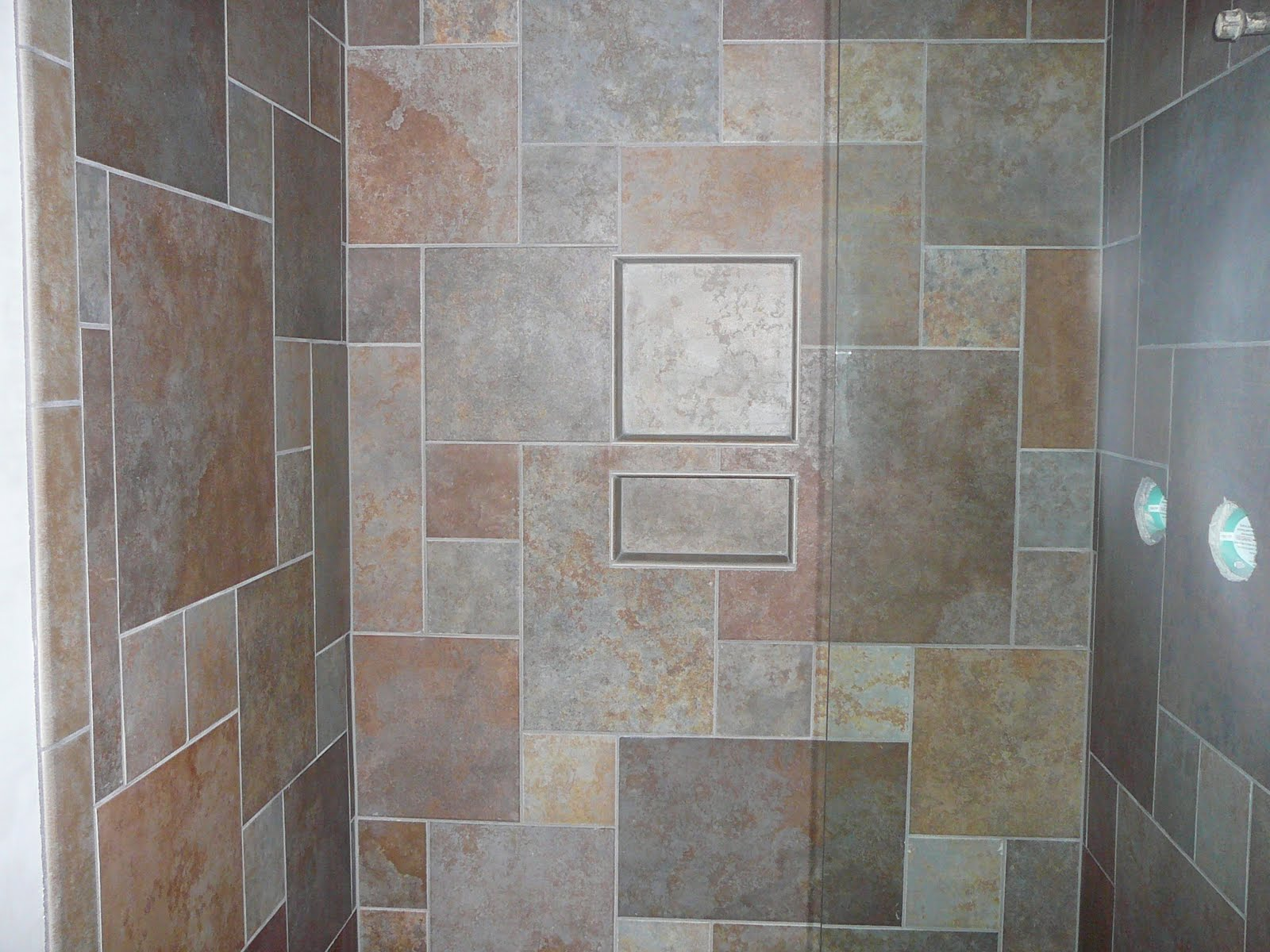Knapp tile and flooring inc custom shower Different design and colors of tiles