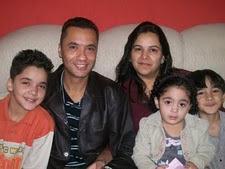 Prs Rogério e Olga, Renan, João Pedro e Lais
