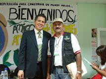 Con el Ing. Juan Carlos Sánchez