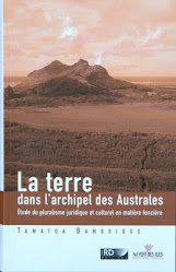 La terre dans l&#39;archipel des Australes